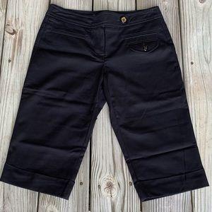 Trina Turk Black Bermuda Shorts.  Size 2.